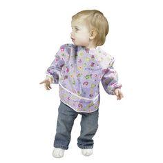 Bumkins Sleeved Bib (2-Pack) - Feeding Food - Cotton Babies Cloth Diaper Store