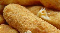 Deep Fried Mozzarella Sticks Recipe : Michael Smith Recipes | LifeStyle FOOD