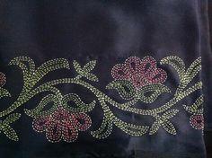 Sashiko Fabric - Butterflies and Sashiko - Sylvia Pippen Sashiko Pre-printed Fabric Kit - Japanese Embroidery, Quilting, Sewing - Embroidery Design Guide Sashiko Embroidery, Embroidery Scissors, Indian Embroidery, Japanese Embroidery, Crewel Embroidery, Hand Embroidery Patterns, Embroidery Books, Embroidery Tattoo, Border Embroidery