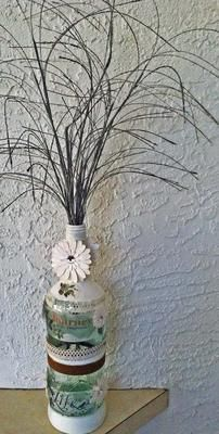 Recycled Wine Bottle Crafts
