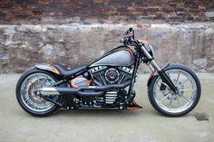 2013 Harley Davidson Softail Breakout FXSB custom - Google Search
