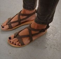 Hot new items added to our store Womens Strappy Fl... Check us out here! http://lumidfashion.com/products/womens-strappy-flat-sandals?utm_campaign=social_autopilot&utm_source=pin&utm_medium=pin
