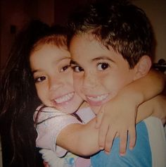 Throwback Thursday Photo: Cameron Boyce With His Sister April 10, 2014