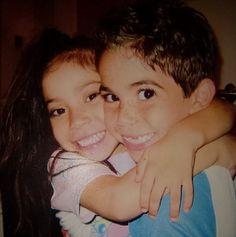 Throwback Thursday Photo: Cameron Boyce With His Sister April 10, 2014