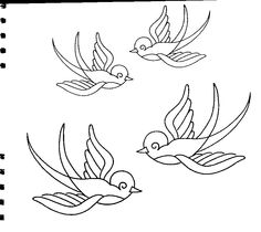 Needle-Works Butterfly: More Than 70 Embroidery Patterns
