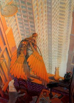 François Schuiten is a Belgian comic book artist, he was born in Brussel. He is best known for drawing the series Les Cités Obscures. Art And Illustration, Illustrations Posters, Comic Book Artists, Comic Books Art, Comic Art, Art Pulp, Ligne Claire, Bd Comics, Retro Futurism