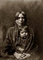 Yaqui Indian baby & mother