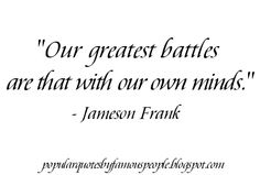Mind Quote by Jameson Frank