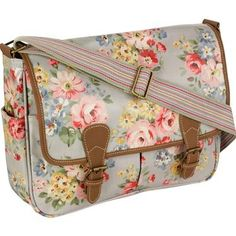 Cath Kidston satchel would make great knitting bag
