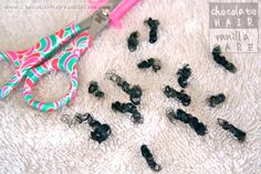 Trimming Your Child's Natural Hair: Box Twist/Braid Method | Chocolate Hair / Vanilla Care