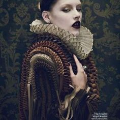 67 Melodramatic Collar Creations - From Wonderland Neckwear to Feathered Chokers (CLUSTER)