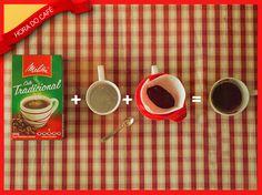 São apenas 3 etapas para preparar o seu Melitta para #HoraDoCafé ser ainda mais saborosa.