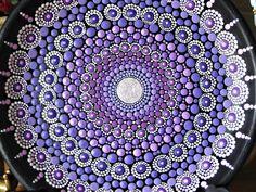 ORIGINAL. Mandala purple dreams. The bright mysterious and