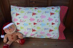 Christmas Tree pillowcase/holiday
