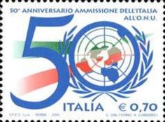 50th anniversary of the admission of Italy to U…