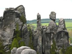Adrspach Rocks, Bohemia, Czech Republic - Recherche Google