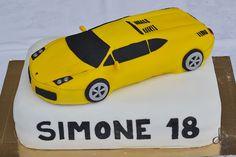 Lamborghini cake!!
