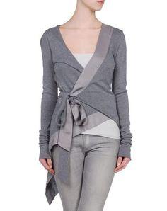 hooded cardigan wrap pattern   Amazing knit and satin wrap cardigan