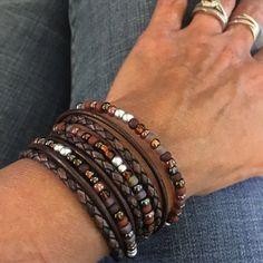 Top Seller Boho Wrap Bracelet Leather by BohoBlissCreations