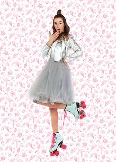 Plakat A3 Sylwia Lipka NOWY SESJA wersja 2 Idol, Tulle, Celebrities, Skirts, Youtube, Fashion, Poster, Moda, Skirt