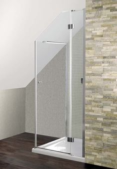 A Simpsons Design bespoke shower enclosure for loft conversions available from Room H2o