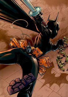 Cassandra Cain (Batgirl).