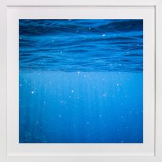 An art print to remind you of the sea - Deep Caribbean by Kamala Nahas at minted.com