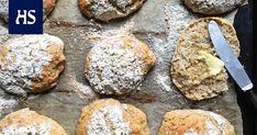 Uunissa paistuvien sämpylöiden tuoksu leijuu nyt monessa kodissa. Tällä ohjeella leivot pellillisen muhkeita sämpylöitä helposti. I Love Food, Good Food, Muffin, Baking, Breakfast, Recipes, Kala, Foods, Drinks