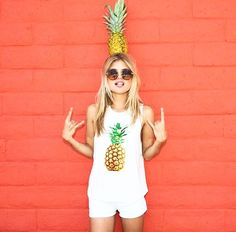 the Pineapple Tank from Effin Shop // effinshop.com
