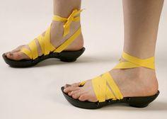 Cool sandals!
