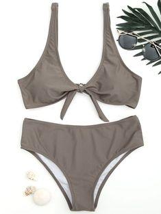 56787d8026c01  ad Knotted Scoop Bathing Suit. Price   19.49.  Swimwear  Bikinis