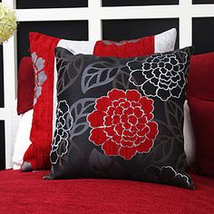Set of 2 China Flower Jacquard Polyester Decorative Pillow Cover – AUD $ 53.12