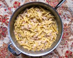 No Boil Chicken Alfredo Skillet | Plain Chicken