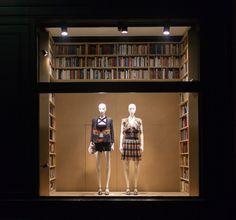 Sonia Rykiel - 2015 - mannequins collection Theme #bookshop #librairie #Theme #CofradMannequins