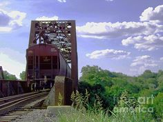 Goodbye Train Ft.Worth Texas railroad