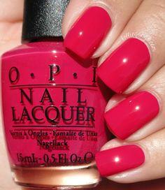 OPI Madam President // @kelliegonzoblog Nail Design, Nail Art, Nail Salon, Irvine, Newport Beach