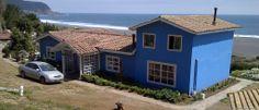 Una hermosa casa de playa en Chile Interior Exterior, Chile, Shed, Outdoor Structures, Outdoor Decor, Home Decor, Followers, House Beautiful, Interior Design