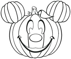 Pumpkin Coloring Pages Holiday Coloring Pages Pinterest - Coloring-pages-of-a-pumpkin