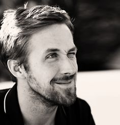 ryan gosling grinning all squinty like this makes me want to twirl my hair around my finger....