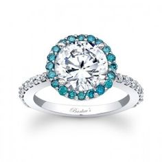 THIS is EXACTLY what I want...simple, thin, a little blue diamond, PERFECT...*drooling*