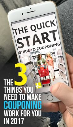 3 Things You Need to Actually Make Couponing Work in 2017