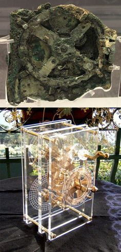The Antikythera mechanism is an ancient mechanical computer designed to calculate astronomical positions. It was recovered in 1900–1901 from the Antikythera wreck. However, its significance and complexity were not understood until decades later. The construction has been dated to the early 1st century BCE. Technological artifacts of similar complexity and workmanship did not reappear until the 14th century, when mechanical astronomical clocks were built in Europe. modern reconstruction at…