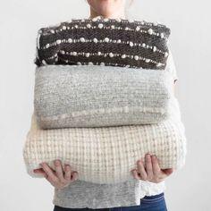 Contigo Wool Throw - Grey – The Citizenry Grey Throw Blanket, Throw Pillows, Sofa Throw Cover, Basket Decoration, Baby Alpaca, Hand Weaving, Artisan, Wool, Product Photography