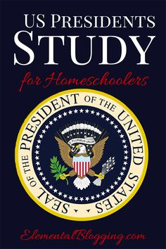 US Presidents Study for Homeschoolers {Including plans for a 10 week unit study and FREE downloadable notebooking page!}