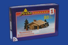 Wooden Construction Kit,High Quality,Traditional Alpen Folk Architecture,Education,Develops imagination,System of building sets by CzechTraditionTrade on Etsy