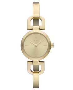 fossil watch women 39 s georgia gold tone stainless steel. Black Bedroom Furniture Sets. Home Design Ideas