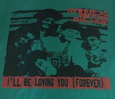 Vintage New Kids On The Block Medium Short Sleeve Tee T-Shirt NKOTB P1 #NA #GraphicTee