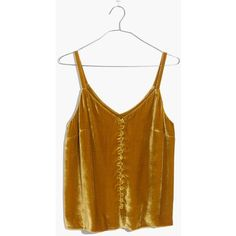 A lush velvet cami with pretty details inspired by vintage underpinnings (see: narrow straps, covered buttons). Not just for date night, this top layers perfectly over a fitted tee. Indie Outfits, Grunge Outfits, Fashion Outfits, Pretty Outfits, Cute Outfits, Goth Outfit, Velvet Cami, Estilo Boho, Looks Vintage