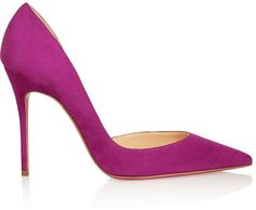 Christian Louboutin Iriza 100 suede pumps on shopstyle.com