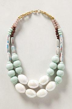 Bonny Pastel Necklace #anthropologie